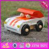 Carro de madeira barato por atacado do brinquedo do bebê 2017, carro de madeira do brinquedo do bebê da alta qualidade, carro de madeira W04A325 do brinquedo do bebê da melhor venda