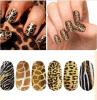 Collant de clou de collants d'art de clou de transfert de l'eau de serpent de tigre de léopard