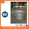 Shelving ячеистой сети хранения крома или нержавеющей стали