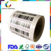 バーコードラベルのロールスロイスの自己接着印刷のリボンの転送のラベルのステッカー