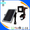 2017 Hot Sell Sensor de Movimento Solar LED Flood Light