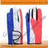 完全な印刷の総合的な革ゴルフ手袋