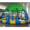 Raggruppamento del campo da giuoco dell'acqua della tela incatramata dell'interno della sosta o pozzo gonfiabile della sfera con la tenda