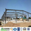 Almacén constructivo de la estructura de acero de la construcción prefabricada