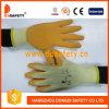 Ddsafety 2017 gants de travail enduits par latex d'orange avec du ce