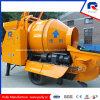 Pompa per calcestruzzo elettrica diesel mobile di vendita calda della pompa principale originale di Rexroth di fabbricazione della puleggia con il miscelatore del timpano (JBT40-P)