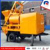 Concrete Pomp van de Aanhangwagen van de Vervaardiging van Pully de Draagbare Mini met de Mixer van de tweeling-Schacht (JBT40)