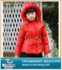 Rotes Warm Down Jacket für Teen Girl