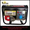 100%銅のSingle Phase 1000W 1kw 1kVA Small Petrol Gasoline Generator (ZH1500CT)