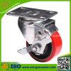 Industrie Carstor mittlere Aufgabe PU-Rad-Fußrolle