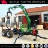 ATV Towable Selbst - angeschaltener hydraulischer Bauholz-Schlussteil/Protokoll-Schlussteil mit Kran Lt3000