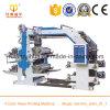 4 Farben-Paket verwendete Shirt-Beutel-Drucken-Maschine