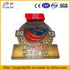 Изготовленный на заказ медаль металла Comprtion рэгби высокого качества