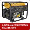 Generadores de gas espera de la gasolina de los generadores 6.5kVA 6.5kw 220V