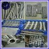 Joint de bride haute pression 1 de 2 pouces de tuyau flexible tressé en acier inoxydable