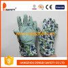Ddsafety 2017 перчаток малышей с зелеными многоточиями на перчатке Gardon ладони