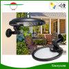 Lumière solaire rotative de détecteur de mouvement de la cornière 56 DEL pour le mur