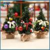 Mini natale domestico artificiale della camera da letto del salone di natale dell'albero di Natale