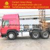 Equipamento de máquinas de construção Sinotruk HOWO 371 Trator especial HP usados da cabeça da máquina