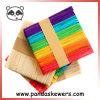 114 bâtons de popsicle Lolly bâtons en bois de l'artisanat pour les enfants
