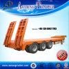 Liangshan Aotong Aanhangwagen van het Bed Lowboy van 60 - 80 Ton de Vlakke Lage