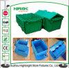 caixas plásticas Stackable e Nestable do armazenamento 70L