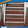 Pisadas de escalera de acero de rejilla del acero inoxidable de ASTM