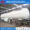 Acoplado del tanque del visera de Sun del Tri-Árbol 56000L 25tons LPG para Tanzania