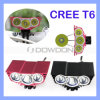 CREE Xml U2 LED Cycling Bicycle Bike Light Headlamp Headlight +Battery di 3600lm 3X