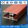 China fabricante de la parte superior del bastidor de la ventana de madera perfil de aluminio anodizado