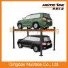 elevación elegante hidráulica del estacionamiento del coche del poste 3ton cuatro