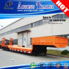 Tri Axles 60ton Lowbed Trailer Truck para Sale