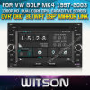 폭스바겐 시 Golf W2-D8245V를 위한 Witson Touch Screen DVD