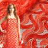Matéria têxtil química da tela do bordado do Sequin