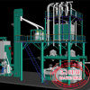 máquina de trituração do milho 3-10t/H com sistema automático do Controlo-D do PLC