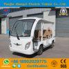 Carro Sightseeing elétrico inteiro do carro de passageiro de Seaters da venda 8