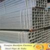 Pipa de acero del surtidor de Alibaba del negro de oro del cuadrado/tubo