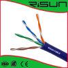 ETL/CE/RoHS/ISO 24AWG сетевой кабель UTP CAT5e с полихлорвиниловая оболочка