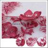 Bello poli tessuto lavorato a maglia all'ingrosso superiore del merletto di cerimonia nuziale 3D