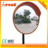 Eroson runder Verkehr außerhalb des konvexen Spiegels