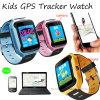電話APP及びカメラ(D26C)が付いている熱い販売の子供GPSの追跡者の腕時計