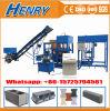 Machine de fabrication de brique hydraulique automatique du charbon Qt4-20