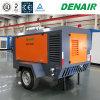 177 compressore d'aria rotativo mobile della vite del motore diesel della barra di Cfm 10
