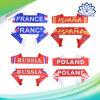 러시아 월드컵 선물 2018년 축구 축구 팬 스카프 동포 32의 팀 치어리더 스카프