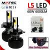 Coche del bulbo 12V 24V de L5/G5/G20/G6 LED/carro autos 9004 9007 linterna de la MAZORCA de H4 H7 H11 LED