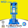 Tabella di elevatore idraulico dell'elevatore della piattaforma dell'elevatore della lega di alluminio dell'albero Gtwy4 6/8/10/12/14-200s