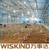 Amplia gama de estructura de acero de la construcción de almacén con vigas de acero