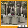 Het moderne Rieten het Dineren Meubilair van de Tuin van de Rotan van de Lijst van de Stoel Vastgestelde voor Openlucht/Huis/Hotel