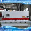 Le cisaillement de la machine Machine de coupe hydraulique Swing/guillotine avec commande CNC