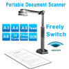 Scanner de document de livre / Photo Scanner de document / A4 Document Camera